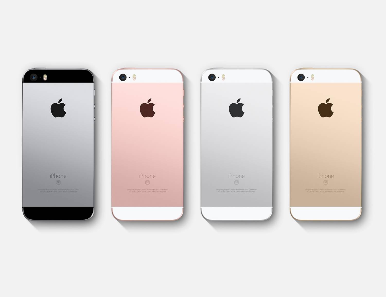 iPhone SE en iPhone 5s: zoek de verschillen