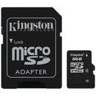 Kingston Micro SDHC 8 GB met Adapter Class 4