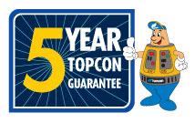 5 Jaar Topcon Garantie bij TOP-Bouwlaser.nl