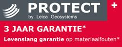 Leica Protect, 3 jaar garantie