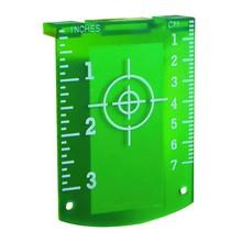 TOP LASER Richtplaatje groen