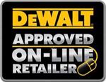 DeWalt Approved On-Line Retailer logo