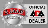 3 jaar garantie ADA