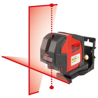 TOP Laser CrossDot Lijnlaser/Puntlaser