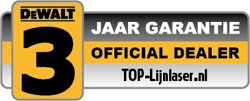 Official DeWalt dealer - 3 jaar garantie