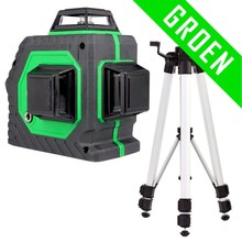 TOP Laser 3D 360G Lijnlaser Groen
