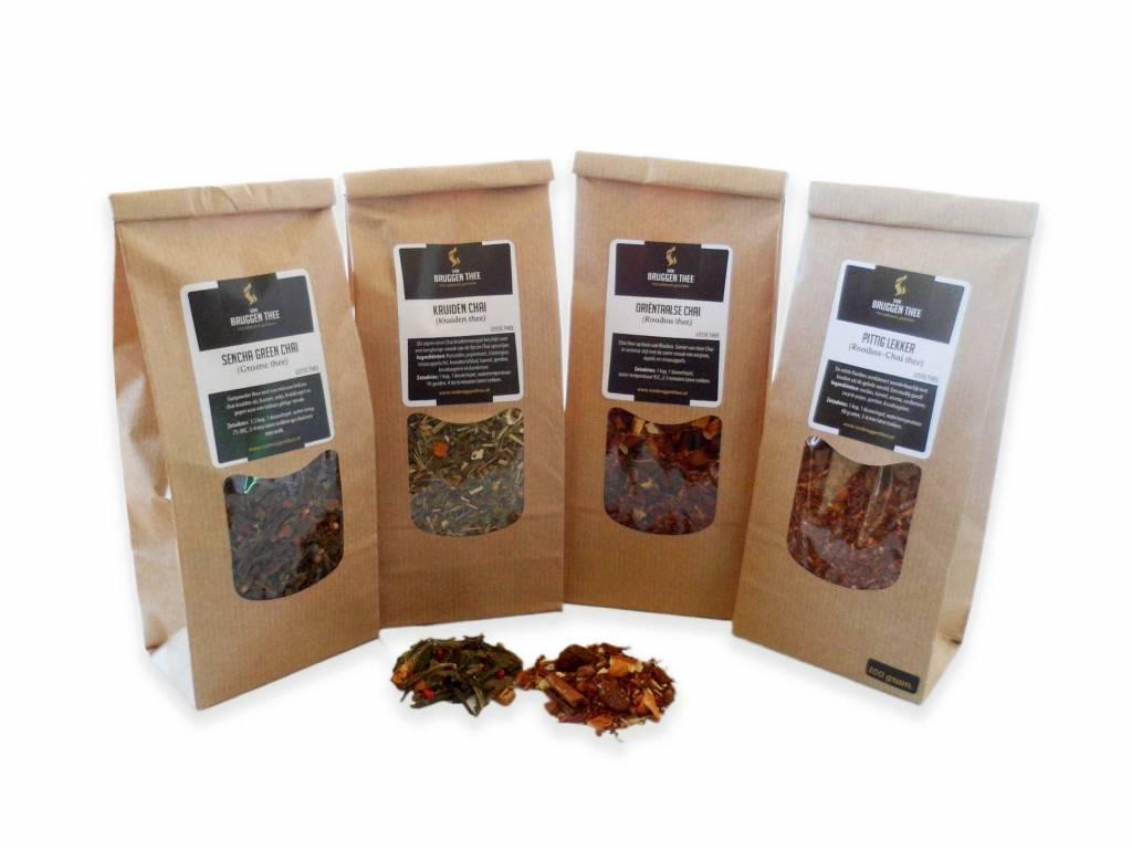 Van Bruggen Thee Chai thee - 4 soorten