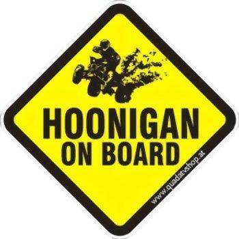 Hoonigan on Board Sticker Motiv 5