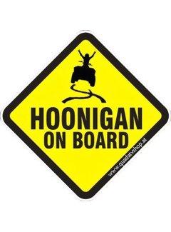 Hoonigan on Board Sticker Motiv 6
