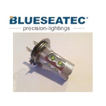 Blueseatec LED Lampe 60W Cree H7