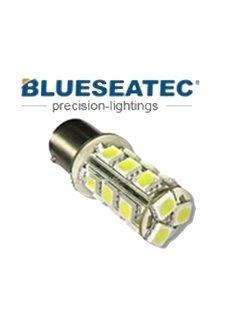 Blueseatec LED Lampe T20/S25-18-5050smd Color white Bau15s