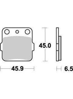 Moto Master Brakepad 091021 Front