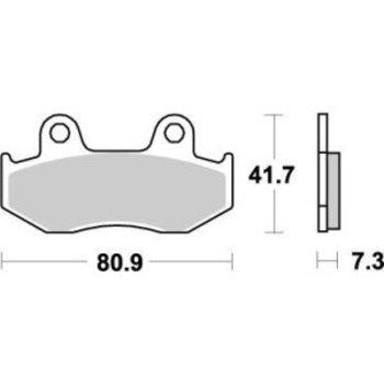 Moto Master Brakepad 090421 Front - Rear