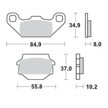 Brakepad 091311 Front