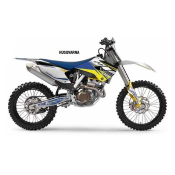 Flu Designs Graphic Kit Pro Team Husqvarna Series 2