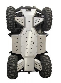 Iron Baltic Skid plate FULL KIT (aluminium alloy) Goes 520