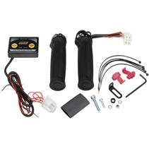 ATV Griffheizung Clamp-on Dual Zone Heated Grip Kit