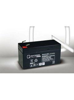 Quality Batterien Q-Batteries 12LS-1.2 12V 1,2Ah Blei-Vlies Akku / AGM VRLA mit VdS