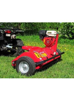 Iron Baltic ATV flail mower, 15hp Loncin engine