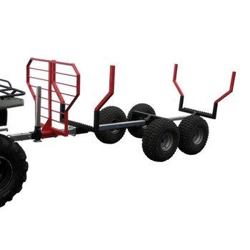Iron Baltic ATV timber trailer