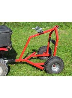 Iron Baltic ATV Log-Schlepper mit Handwinde Kit