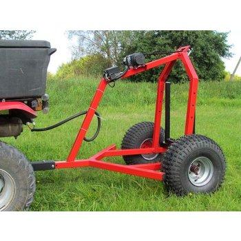 Iron Baltic ATV Log-Schlepper mit elektrischer Winde Kit