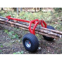 ATV Log-Schlepper hintere Stützteil