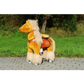 """Ponycycle """"Azuro"""" hell Braun (mit langer Mähne) medium"""