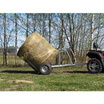 Iron Baltic ATV bale trailer
