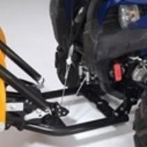 Yamaha YXE 700 Wolverine Montagesatz für WARN Schneeschild