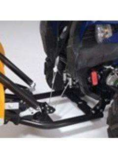 Yamaha Montagesatz für WARN Schneeschild YXE 700 Wolverine