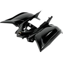 Replacement Plastic Rear Fender Yamaha YFM 700 R Bj. 06-13 schwarz