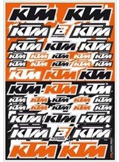 Blackbird Racing KTM Sticker Set