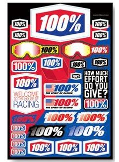 100 % Stickerbogen