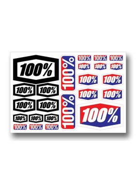 100 % Decal Sheet