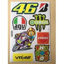 VR46 Stickerset