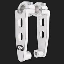 Elite Pivoting Risers für 28,6 mm oder 22 mm Lenker Höhe 12,5 cm