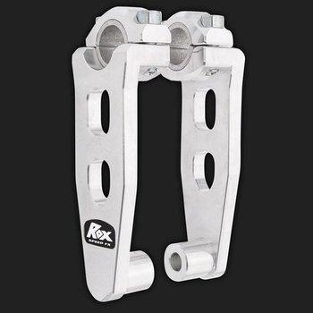 Rox Elite Pivoting Risers für 28,6 mm oder 22 mm Lenker Höhe 12,5 cm