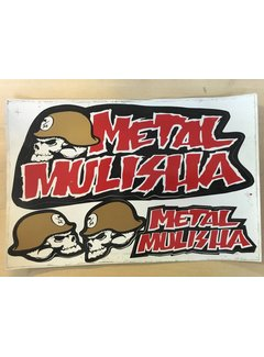 Metal Mulisha Sticker Nr. 6