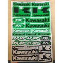Kawasaki Sticker Nr.1