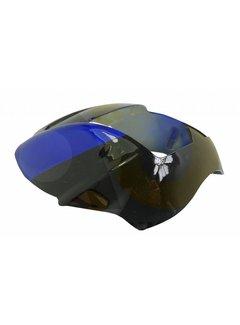 Actionbikes Miniquad Elektro Cobra / 49 cc Verkleidung Scheinwerfer schwarz/blau