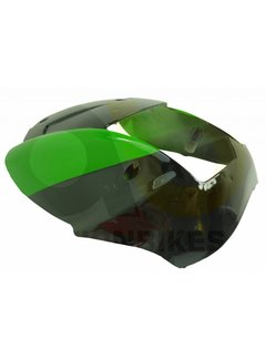 Actionbikes Miniquad Elektro Cobra / 49 cc Verkleidung Scheinwerfer schwarz/grün