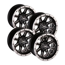 Felgensatz 548X Wheels - Black 12 Zoll
