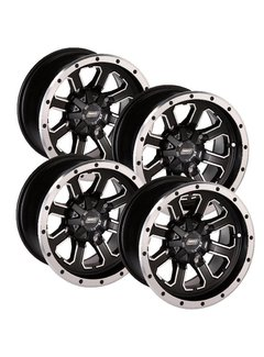 Moose Utility Felgensatz 548X Wheels - Black 12 Zoll