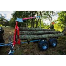 "CRANE for ATV timber trailer ""IB 1000"""