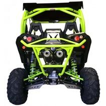 BACK BUMPER BR11 MANTA GREEN - MAVERICK 1000 XDS / XRS TURBO