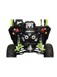 XRW BACK BUMPER BR12 BLACK - MAVERICK 1000 XDS / XRS TURBO
