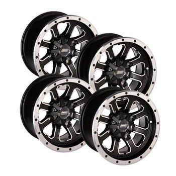 Moose Utility Felgensatz 548X Wheels - Black 14 Zoll