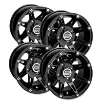 Felgensatz 387X Wheels - Black 14 Zoll