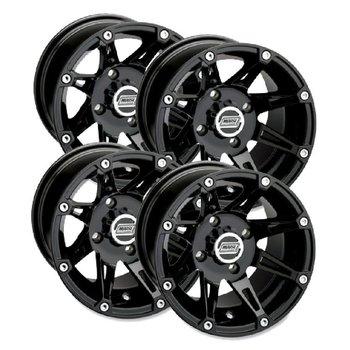Moose Utility Felgensatz 387X Wheels - Black 14 Zoll
